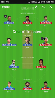 Afghanistan vs SriLanka Match No-7 Prediction | Depth Analysis Pitch Report | Dream11 Players