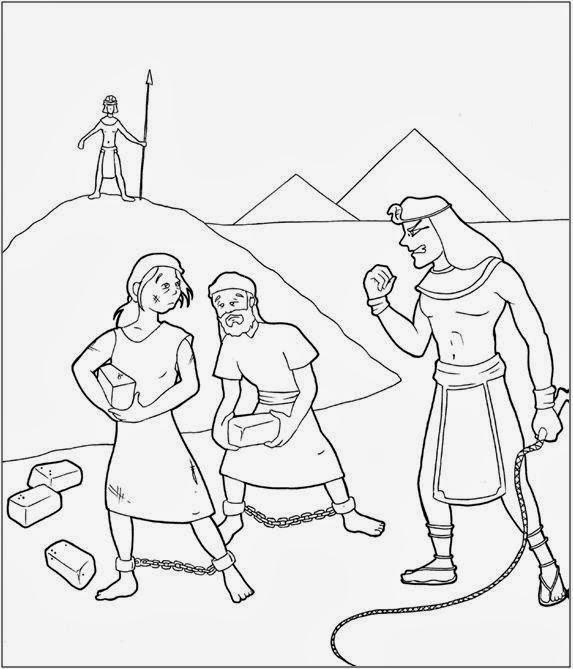 El Renuevo De Jehova: Moises - Imagenes para colorear cristianas ...