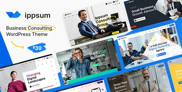 Best Business Consulting Multipurpose WordPress Theme