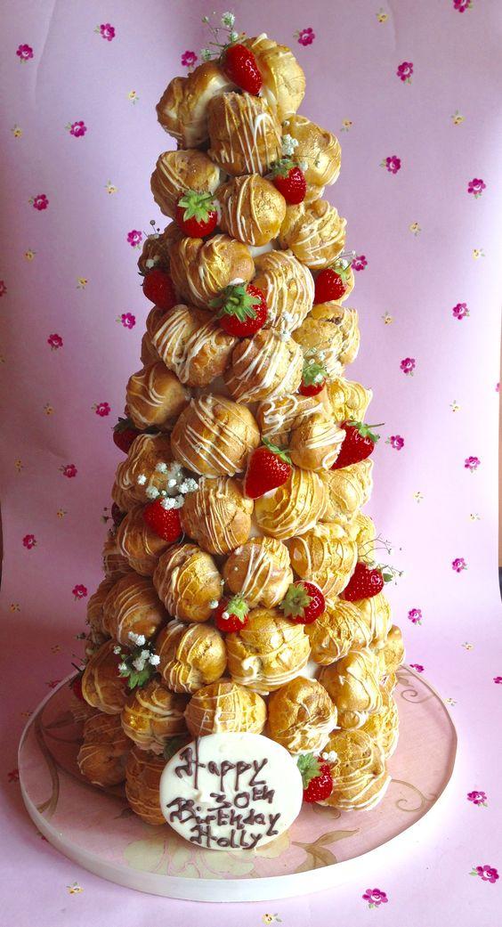 decorado con fresas