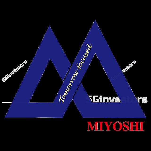 MIYOSHI LIMITED (M03.SI) @ SG investors.io