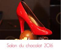 escarpin chocolat rouge