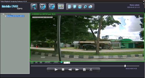 CCTV Pada Mobil Bus