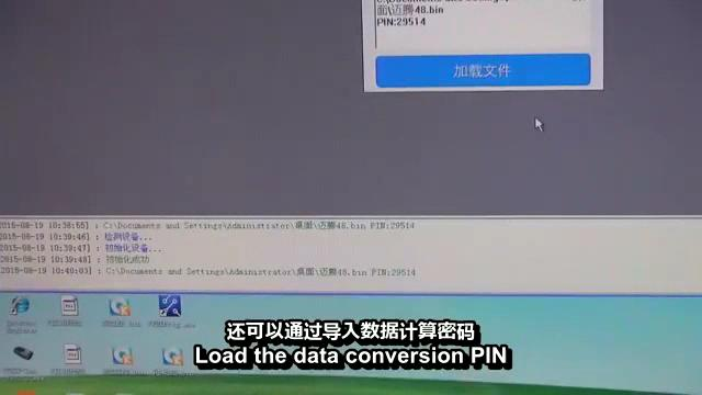 Load file to get -pin