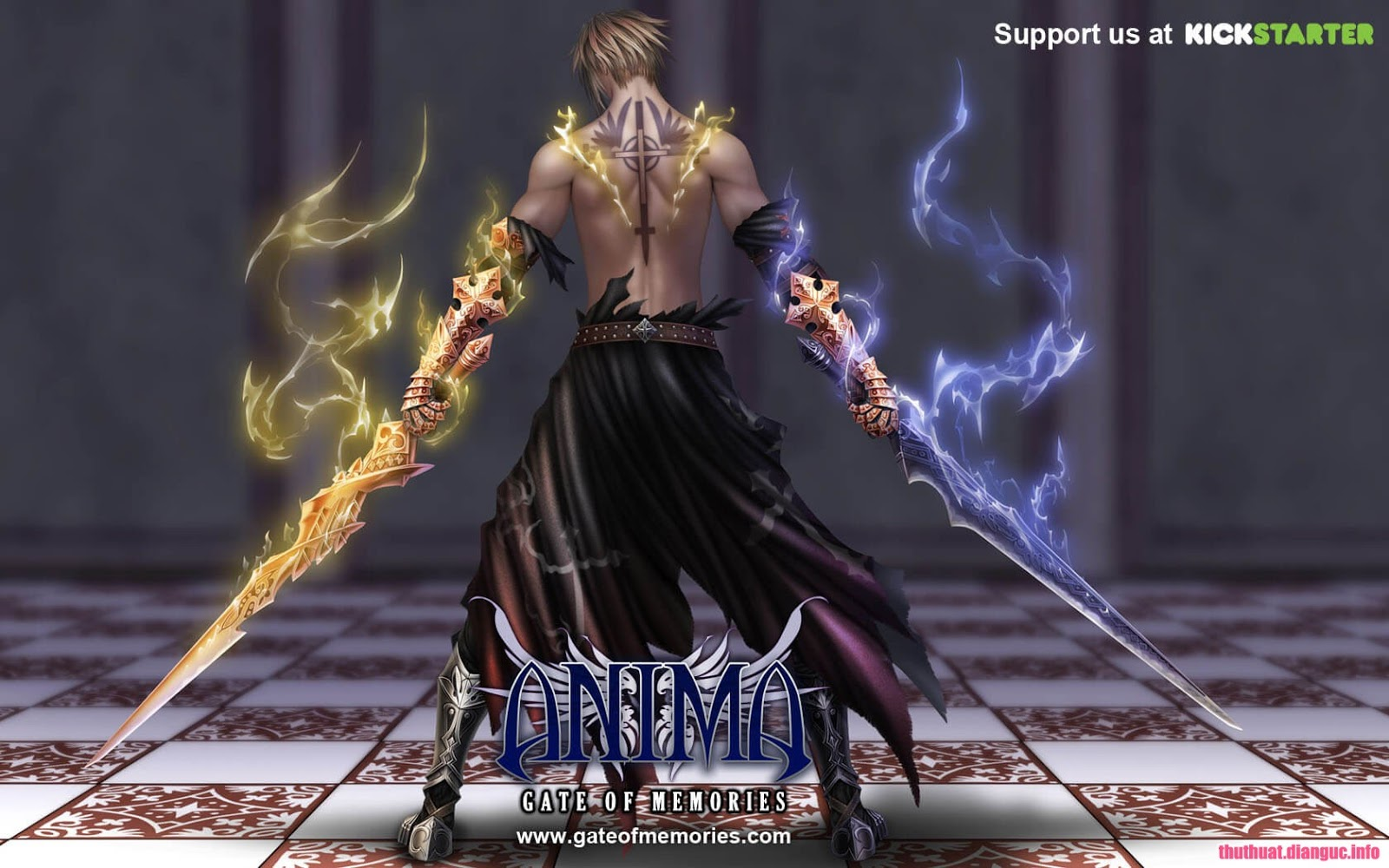 Download Game Anima Gate of Memories Full Crack