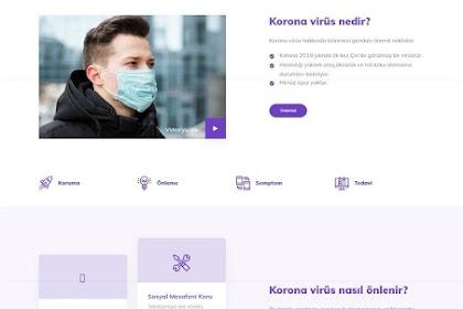 Blogger Korona Virüs - Premium Google News Haber Teması