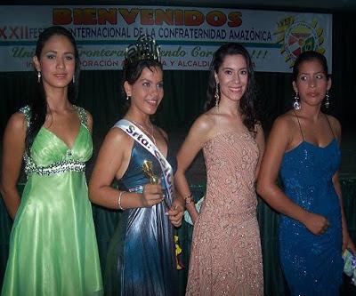 Reinado Internacional  Confraternidad Amazónica
