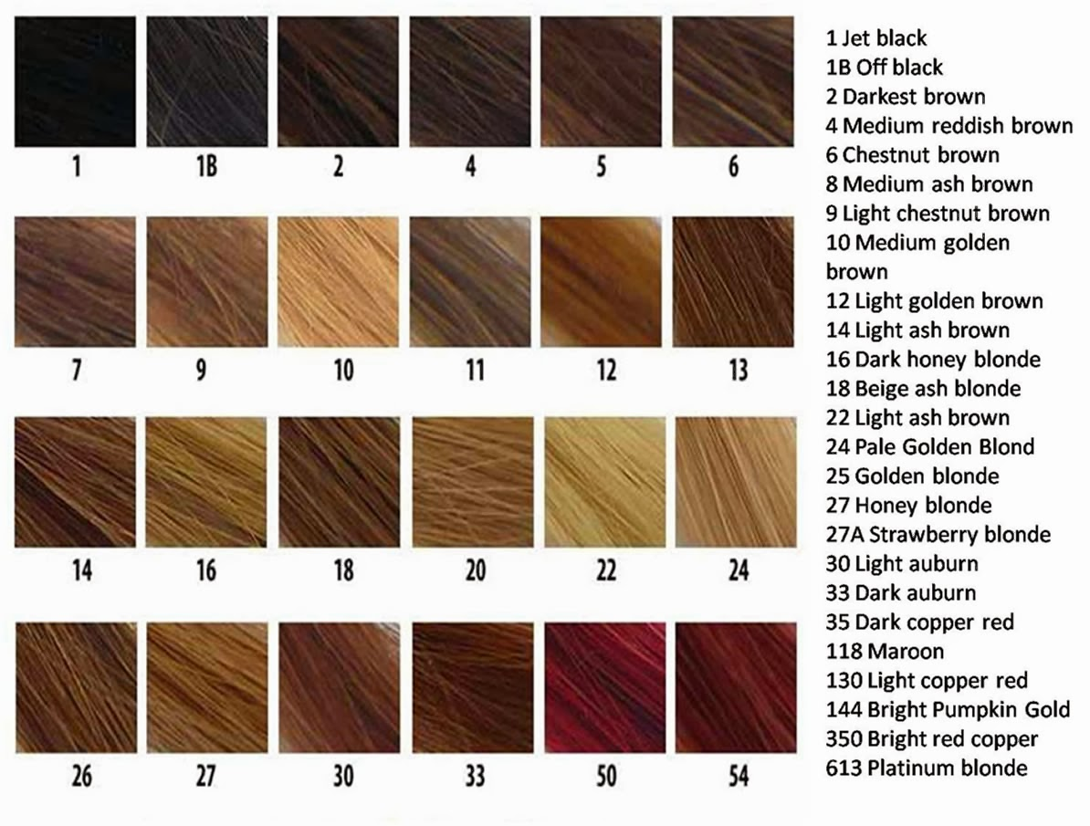 Color chart also the weave queen   rh theweavequeenzspot