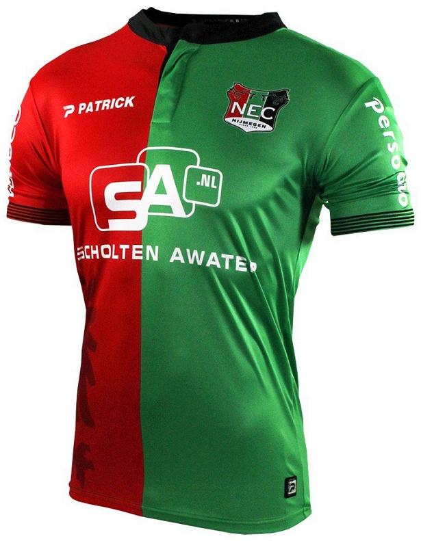 1c2e5d3909 Patrick divulga novas camisas do NEC Nijmegen - Show de Camisas