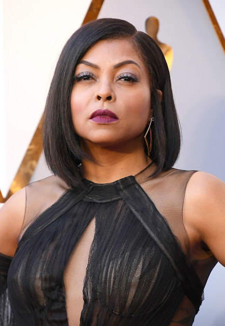861c33c5ba4 Celebrity Makeup Artist Ashunta Sheriff created a dazzling look using KISS Blowout  Lashes in Pixie on actress Taraji P. Henson for the 90th Annual Academy ...