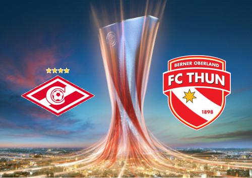 Spartak Moskva vs Thun -Highlights 15 August 2019