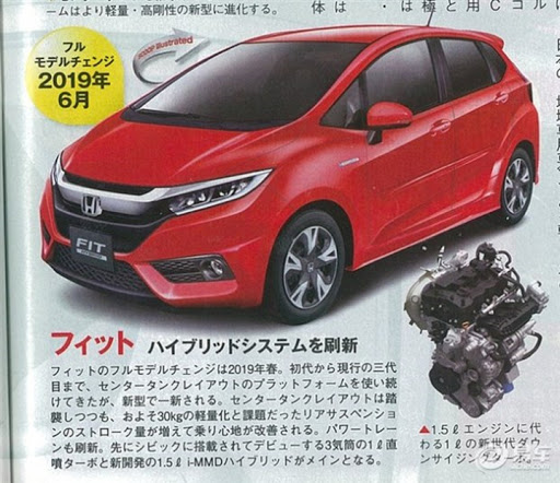 honda jazz facelift