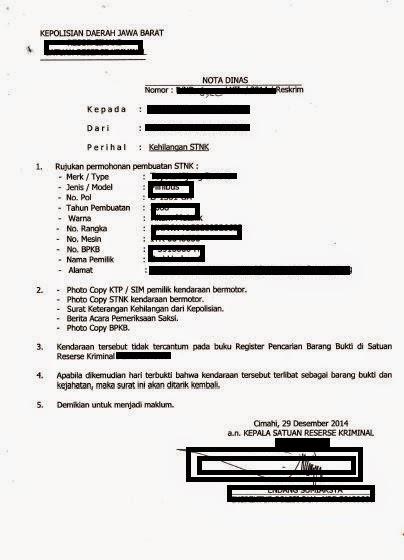 pengurusan STNK Hilang-mega-birojasa-bandung
