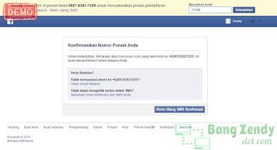 Cara Membuat/Daftar Akun Facebook Tanpa Email