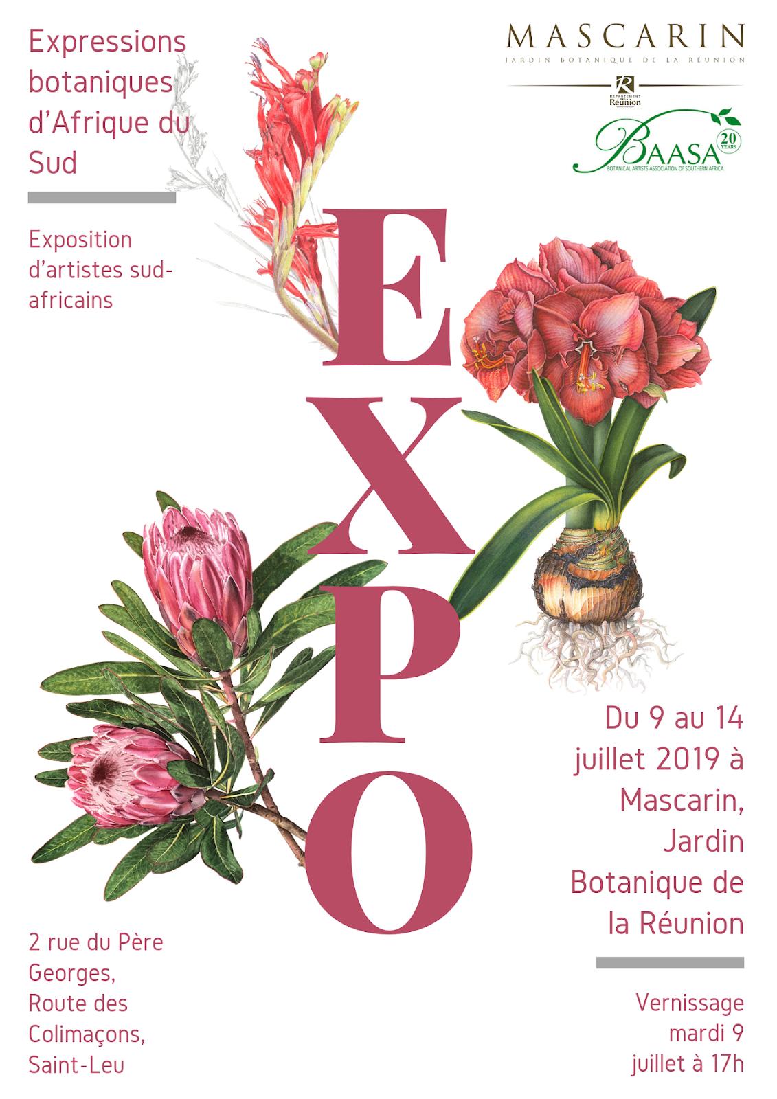 Botanical Artists Association of Southern Africa: 2019