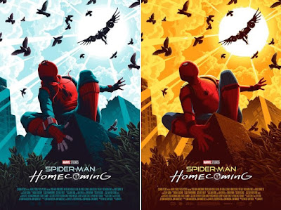 Spider-Man: Homecoming Screen Print by Florey x Grey Matter Art