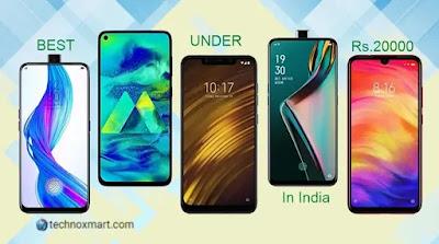 Best Smartphones Under 20000: Top Phones To Buy In India Under Rs.20,000 In September 2020
