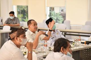 Melalui Vidcon Dengan Kementerian Sosial, Bupati Batu Bara Perbaiki Data Penerima PKH