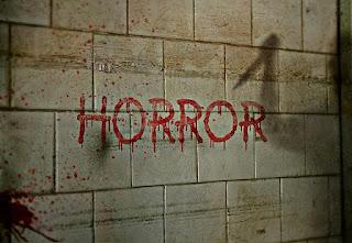 parede manchada de sangue