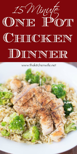 15-Minute-One-Pot-Chicken-Dinner-Recipe