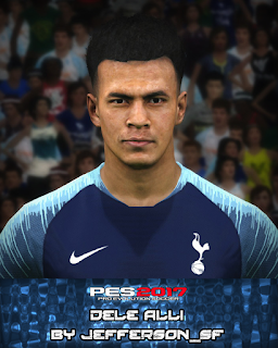 PES 2017 Faces Dele Alli by FaceEditor Jefferson_SF