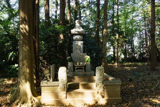 国王神社・桓武平氏の供養塔(茨城県坂東市)