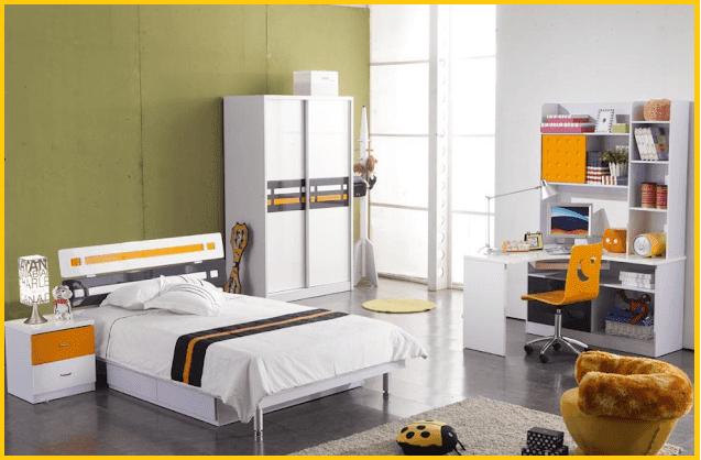 two color bedroom walls