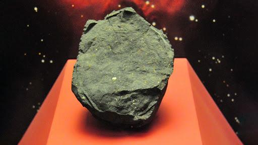 Colección de meteoritos