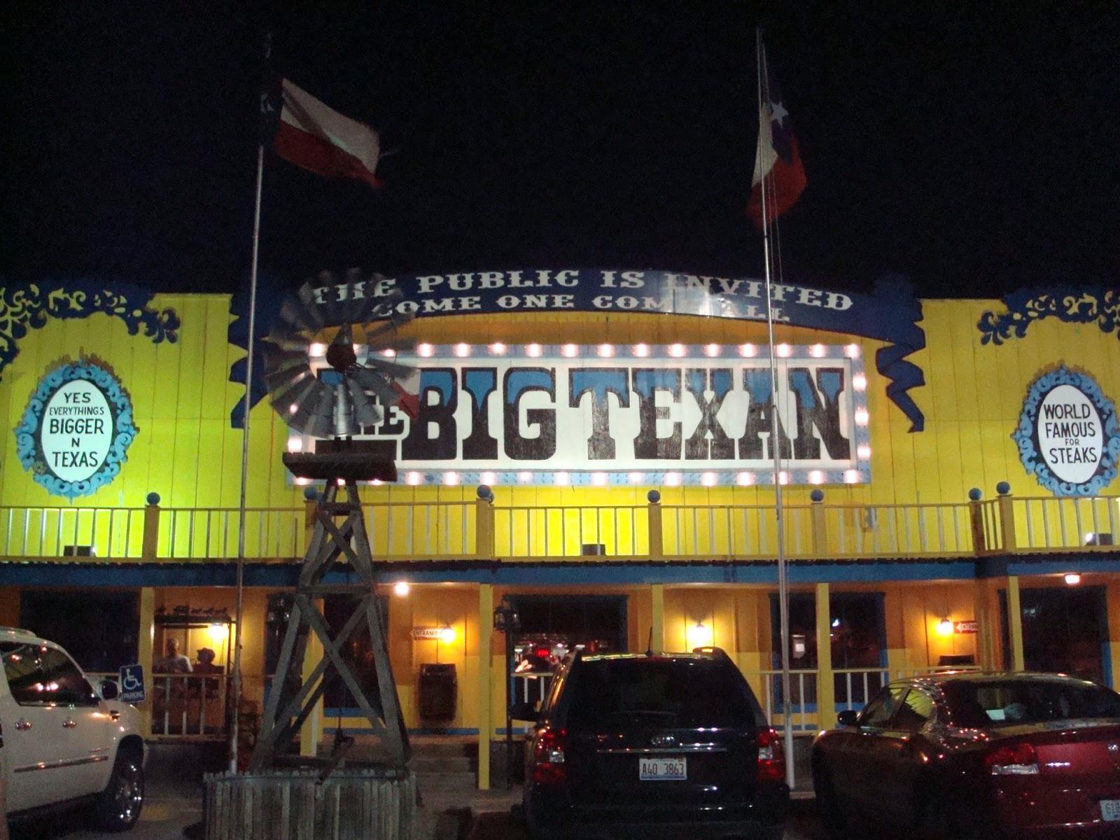 Restaurante Big Texan