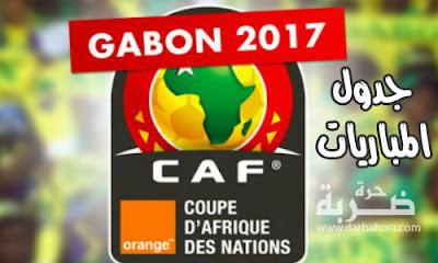 جدول مواعيد مباريات كأس امم افريقيا 2017 الجولة الثالثة | موعد مباريات منتخب مصر فى كأس الامم الافريقية