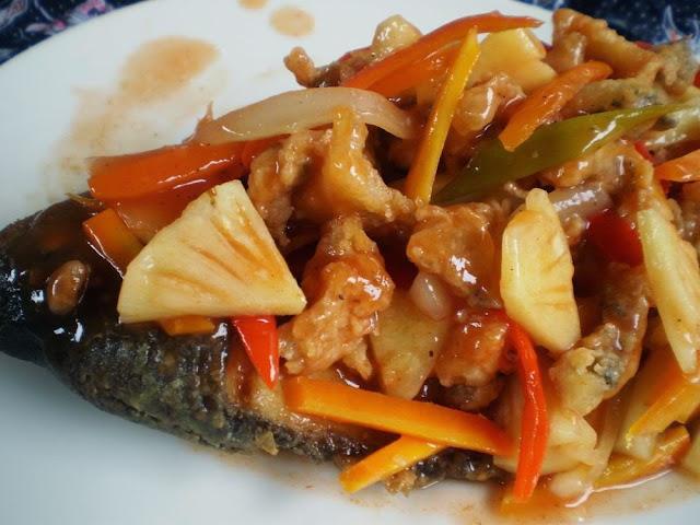 Steak Ikan Gurame Lezat Asam Manis