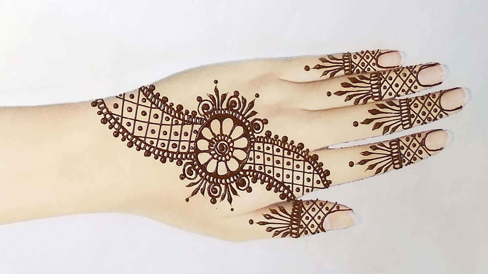 mehndi tattoo designs for hand