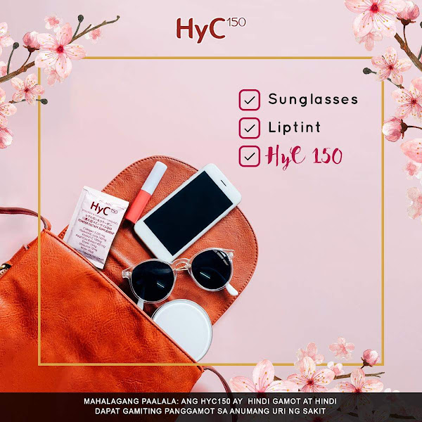 1-step Beauty Routine every morning with HYC 150