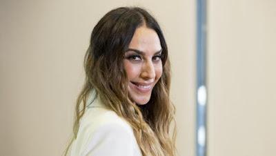 La cantante Mónica Naranjo posa en la presentación de 'La Isla de las tentaciones'