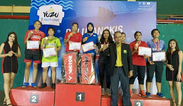 Muzammil Elya Tantri meraih medali emas di Kejurprov Jatim