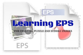 Learn EPS for creating Puzzles and Sudoku Images