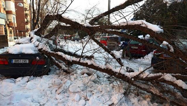 Madrid pide ayuda al Gobierno central tras la gran nevada entre fuertes críticas por el colapso de la ciudad