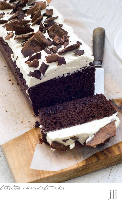 Tartine Double Chocolate Tea Cake Recipe