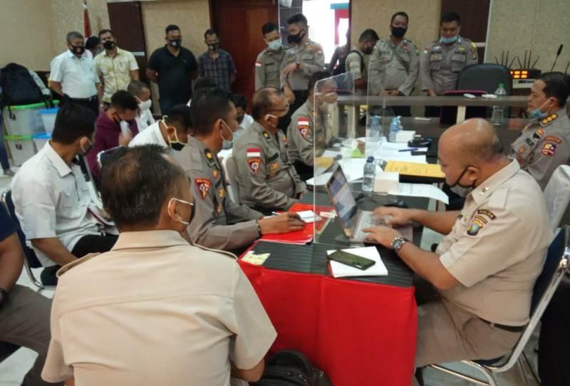 Polres Bintan Ikuti Pemeriksaan dan Pengawasan Tim Wasrik Itwasum Polri Tahap II