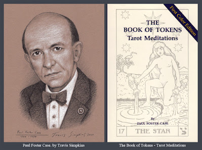 Paul Foster Case. Builders of the Adytum. B.O.T.A. The Book of Tokens. Tarot. by Travis Simpkins