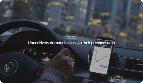 Uber drivers demand access to their personal data