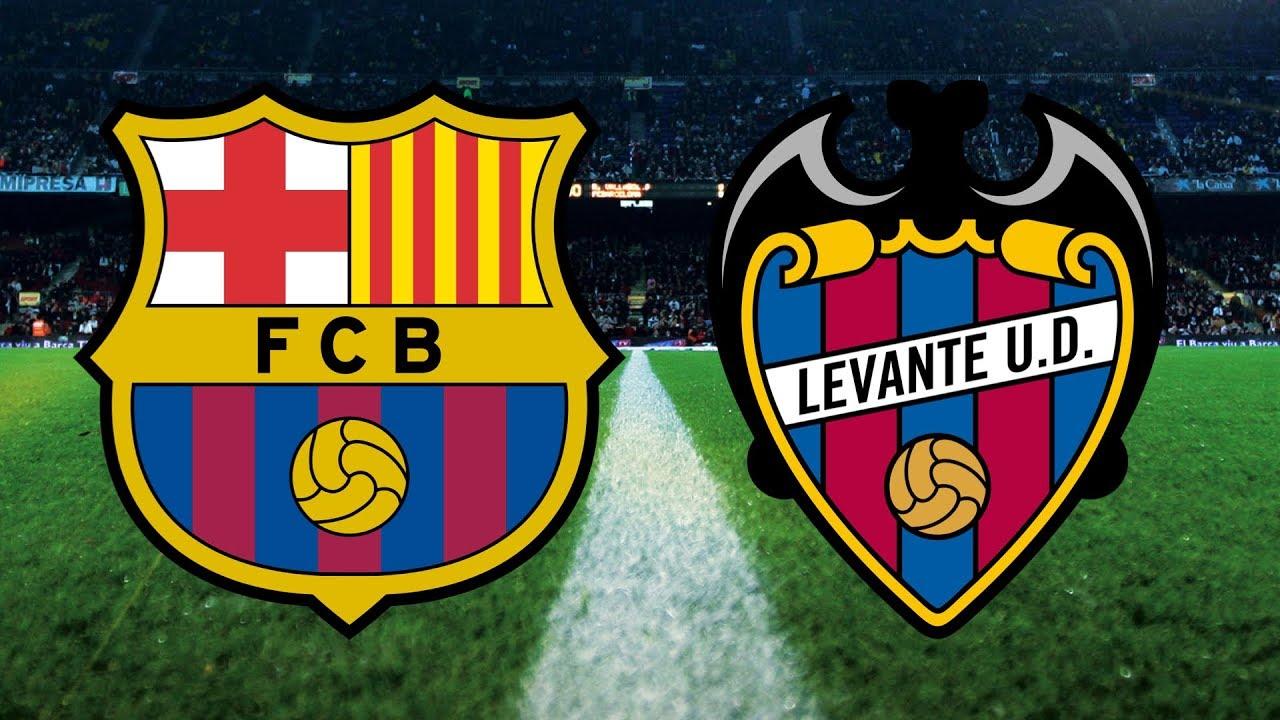 مشاهدة مباراة برشلونة وليفانتي