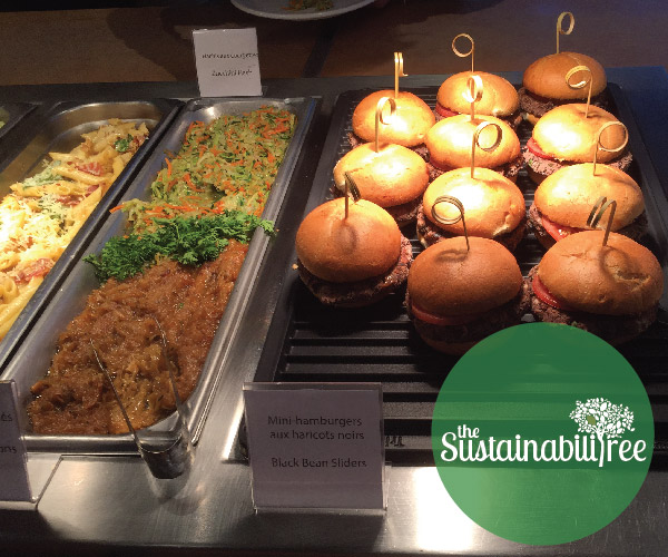 A sample of some of the food served at the uOttawa dining hall