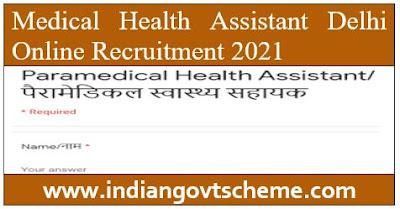 Medical Health Assistant