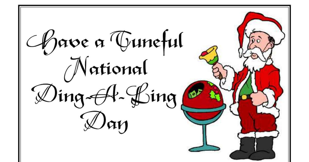 National Ding-A-Ling Day Wishes For Facebook