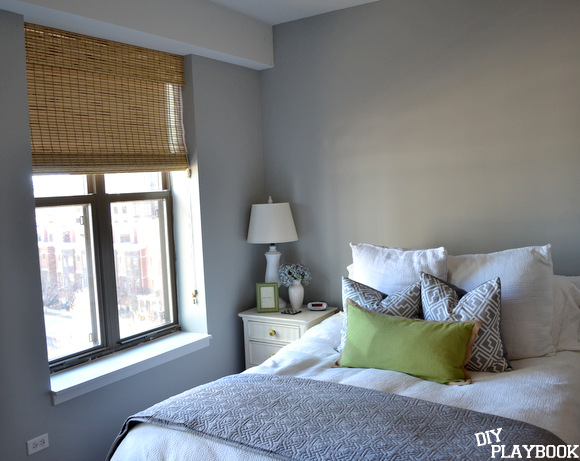 Window Treatments for a One Bedroom Bamboo Shades | DIY Playbook