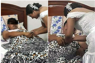 Nurse Leaves Her Wedding To Tend To Patient