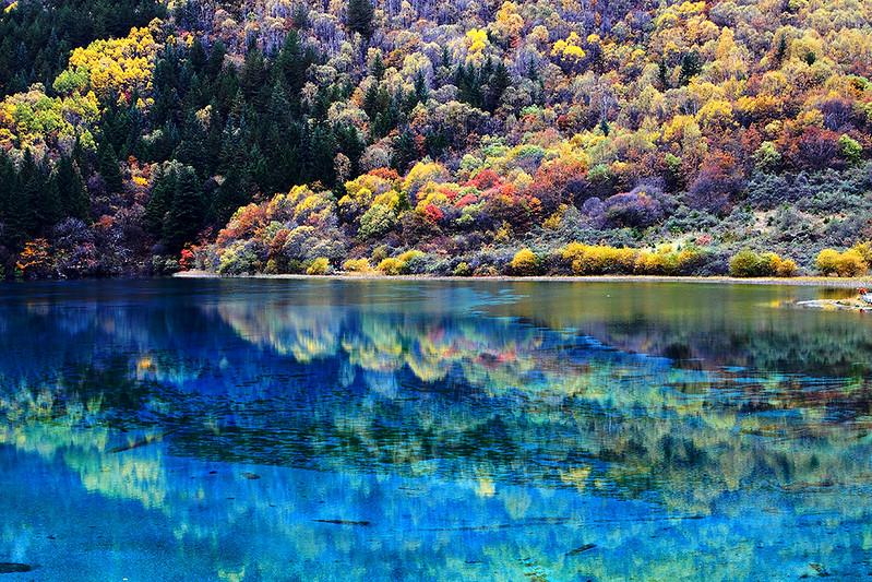 iuzhaigou valley national park