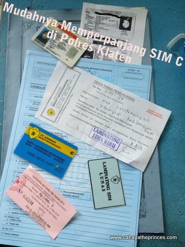 Memperpanjang SIM C