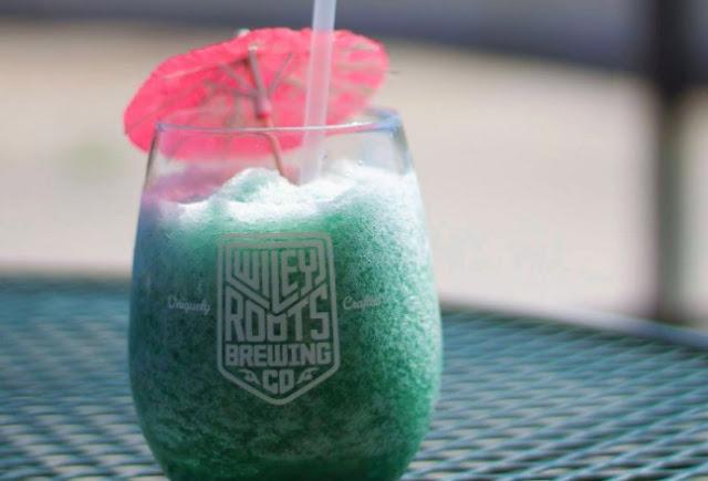 Poolside Slush #summer #drinks